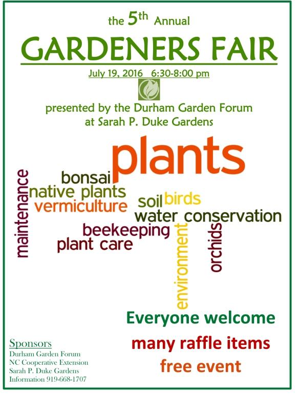 2016 Gardener Fair
